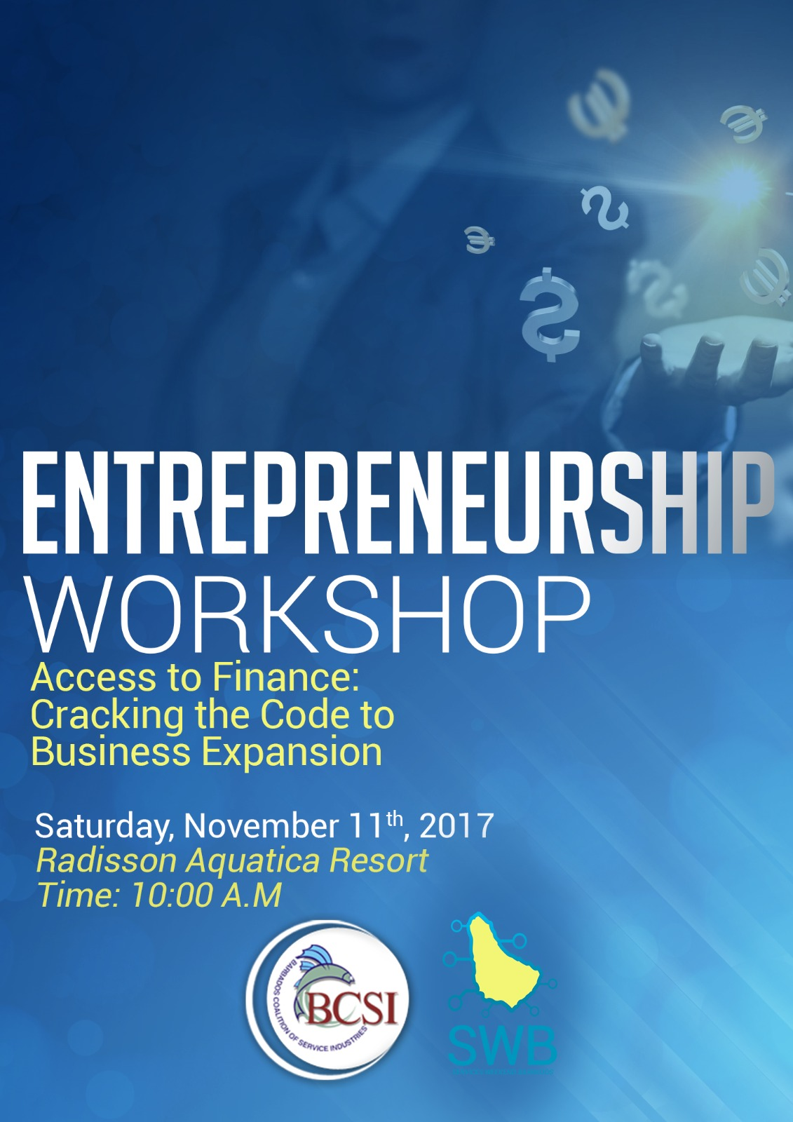 Registration for Services Weekend Barbados (Entrepreneurship Forum)